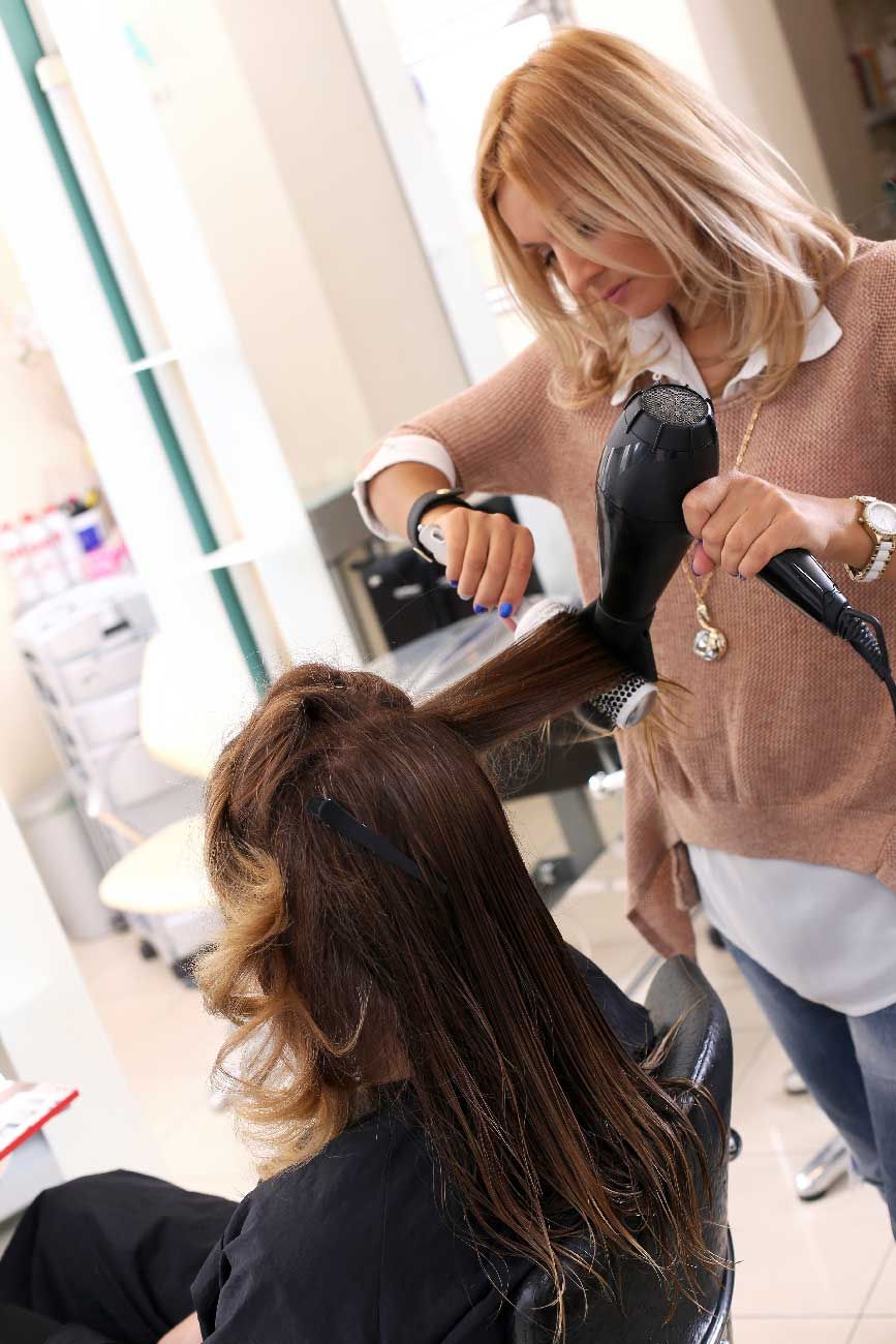 blow hair stylish sxm